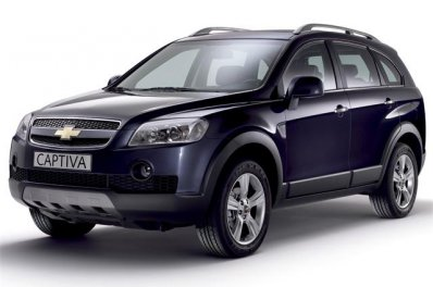 Chevrolet Captiva car for hire in Paphos Cyprus