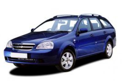 Chevrolet Lacetti Estate car for hire in Paphos Cyprus