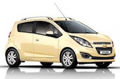 CHEVROLET SPARK car for hire in Paphos Cyprus