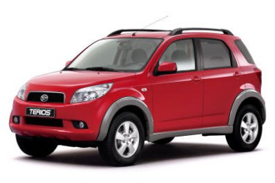 Daihatsu Terios car for hire in Paphos Cyprus