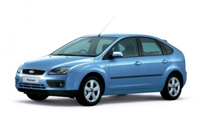Ford Focus car for hire in Paphos Cyprus