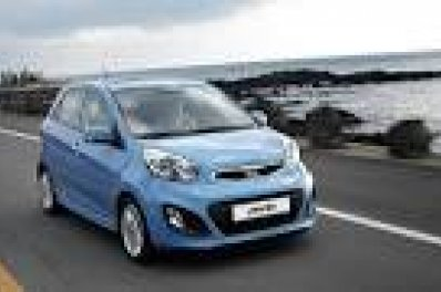 KIA PICANTO car for hire in Paphos Cyprus