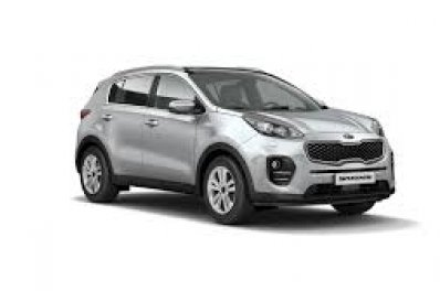 KIA SPORTAGE 4WD car for hire in Paphos Cyprus