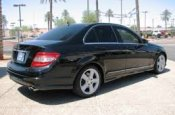 MERCETES car for hire in Paphos Cyprus