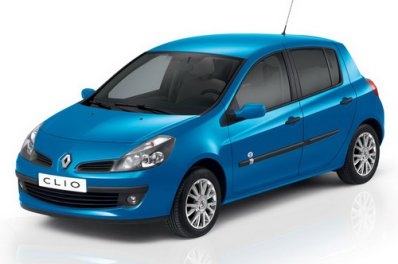 Renault Clio car for hire in Paphos Cyprus