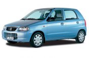 Suzuki Alto car for hire in Paphos Cyprus